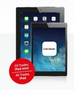 S Broker iPad geschenkt